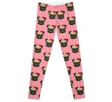Valentine Pugs 4 Leggings