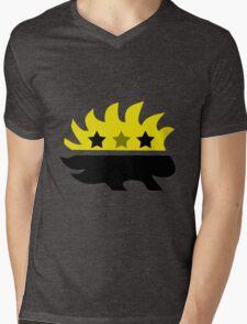 Libertarian Porcupine Mens V-Neck T-Shirt