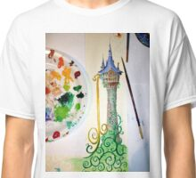 Tower in Progress (Tangled fanart)  Classic T-Shirt
