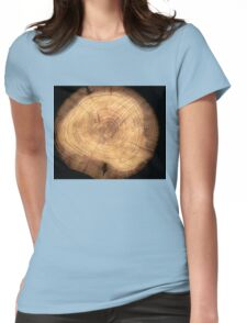 Inside a cypress Womens Fitted T-Shirt