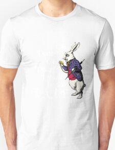 Wonderland White Rabbit Unisex T-Shirt