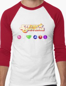 Steven Universe & The Crystal Gems Men's Baseball ¾ T-Shirt