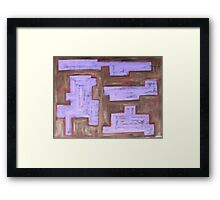 ABSTRACT 448 Framed Print