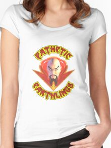 Ming the Merciless - Pathetic Earthlings Variant Women's Fitted Scoop T-Shirt