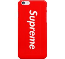 Supreme Exclusive Red iPhone Case/Skin