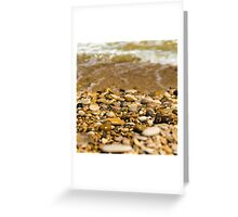 stone and sand Greeting Card