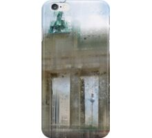 City-Art BERLIN Brandenburg Gate iPhone Case/Skin