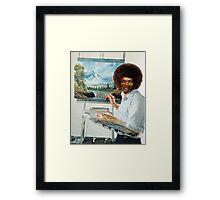 Bob.L.Ross Framed Print