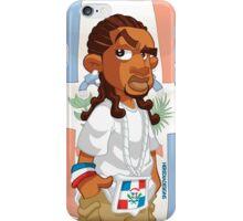 Dominican - Trenzas iPhone Case/Skin
