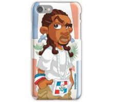 Dominican - Trenzas iPhone Case/Skin