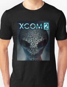 x com 2 skull black T-Shirt