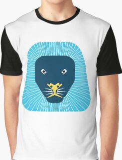 abstract lion face Graphic T-Shirt