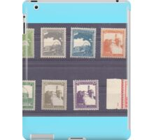 Palestine British mandate stamp collection used between 1927 to 1948 iPad Case/Skin