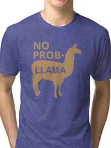 No Prob Llama Tri-blend T-Shirt