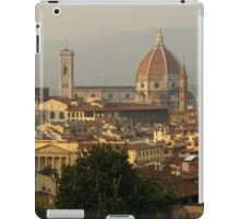 Hot Summer Afternoon in Florence, Italy iPad Case/Skin