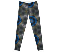 Bioluminescence Beach Sand Stars Leggings
