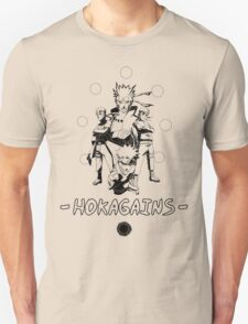 Hokagains - Black T-Shirt