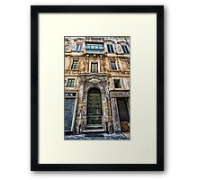 AA991 Architecture Framed Print