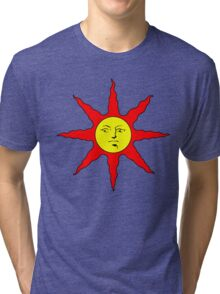 Solaire of Astora - DS Tri-blend T-Shirt
