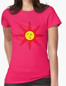 Solaire of Astora - DS Womens Fitted T-Shirt