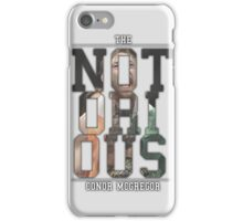''The Notorious'' Conor Mcgregor iPhone Case/Skin