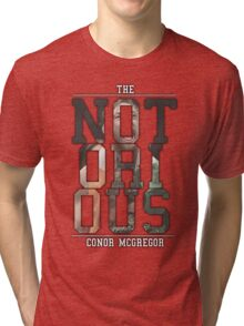 ''The Notorious'' Conor Mcgregor Tri-blend T-Shirt