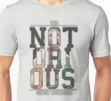 ''The Notorious'' Conor Mcgregor Unisex T-Shirt