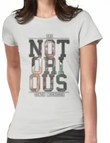 ''The Notorious'' Conor Mcgregor Womens Fitted T-Shirt