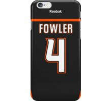 Anaheim Ducks Cam Fowler Jersey Back Phone Case iPhone Case/Skin