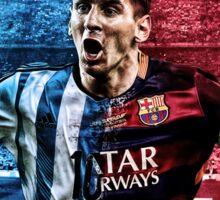 Messi Barca-Argentina Sticker