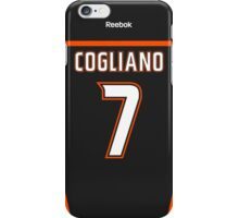 Anaheim Ducks Andrew Cogliano Jersey Back Phone Case iPhone Case/Skin