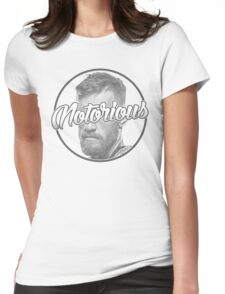 ''Notorious'' Conor McGregor Womens Fitted T-Shirt