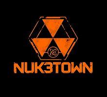 CoD Nuketown Bo 3 Logo by peneque