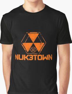 CoD Nuketown Bo 3 Logo Graphic T-Shirt