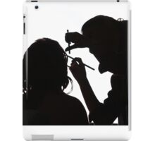 Bride doing make-up iPad Case/Skin