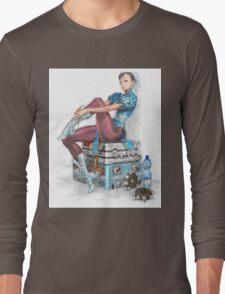 Chun-li Long Sleeve T-Shirt
