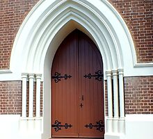 St Pauls Anglican Church      Maryborough Qld by sandysartstudio