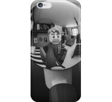 Hand With Reflecting Sphere - Lego® version iPhone Case/Skin