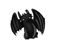 Toothless by plutodoodles
