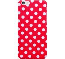 Foamiran polka dot texture iPhone Case/Skin
