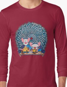 Pinkman and the Brain Long Sleeve T-Shirt