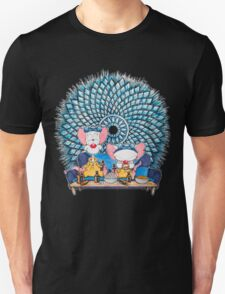 Pinkman and the Brain Unisex T-Shirt