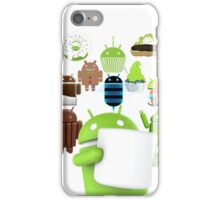 11 Androids iPhone Case/Skin