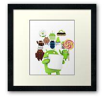 11 Androids Framed Print