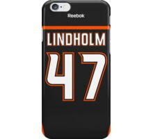 Anaheim Ducks Hampus Lindholm Jersey Back Phone Case iPhone Case/Skin