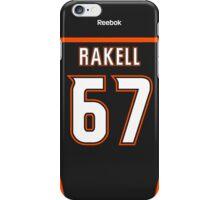 Anaheim Ducks Rickard Rakell Jersey Back Phone Case iPhone Case/Skin