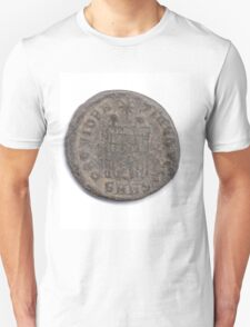 Ancient Roman Constantine coin from 84 CE T-Shirt