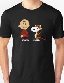 Charlie Inspired Snoopy as Calvin and Hobbes T-Shirt