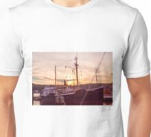 Evening At The Seaport Unisex T-Shirt