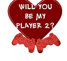 Will you be my player 2? by Adelidaw